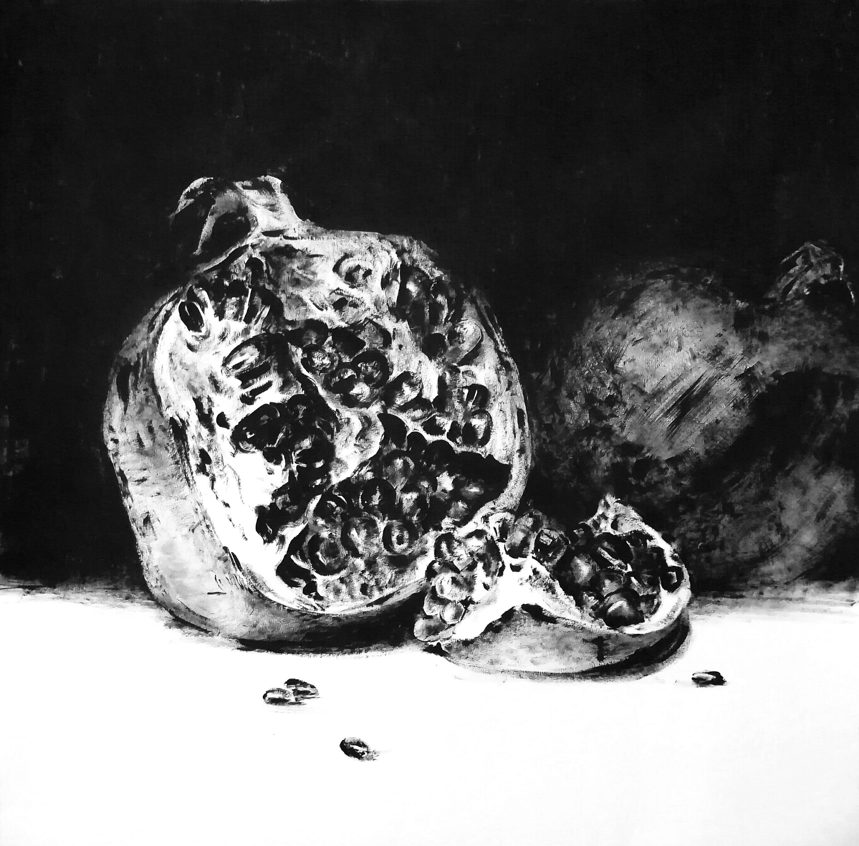 Славнова Анастасия картина Гранат №2