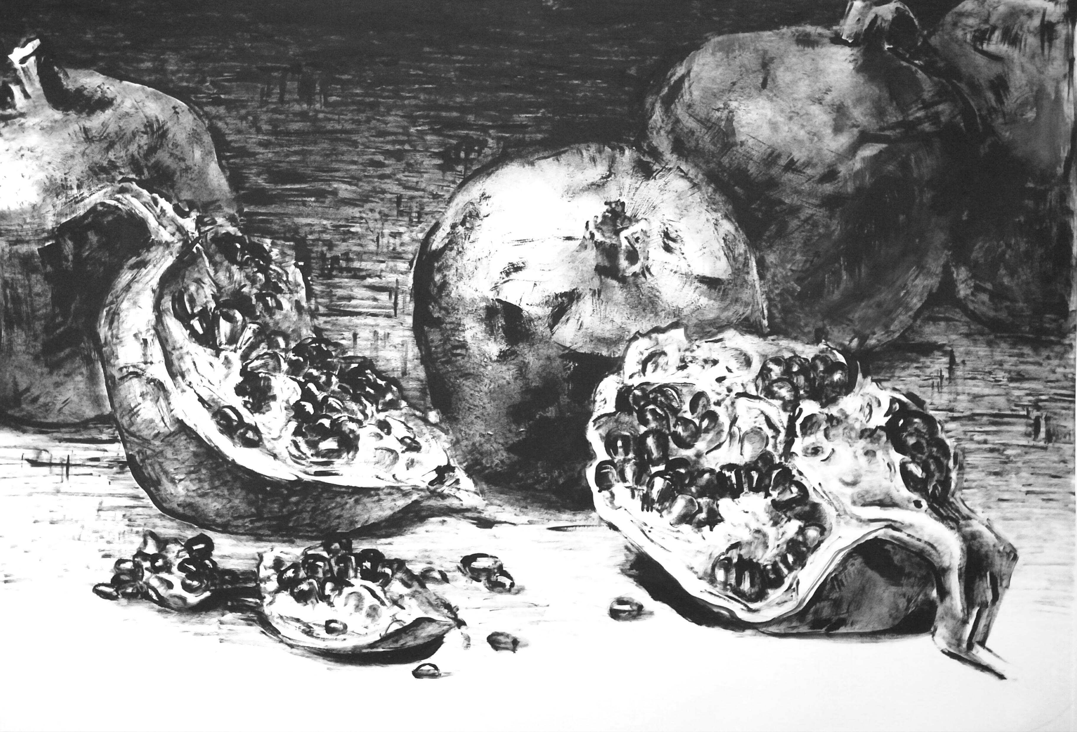 Славнова Анастасия картина Гранат №4