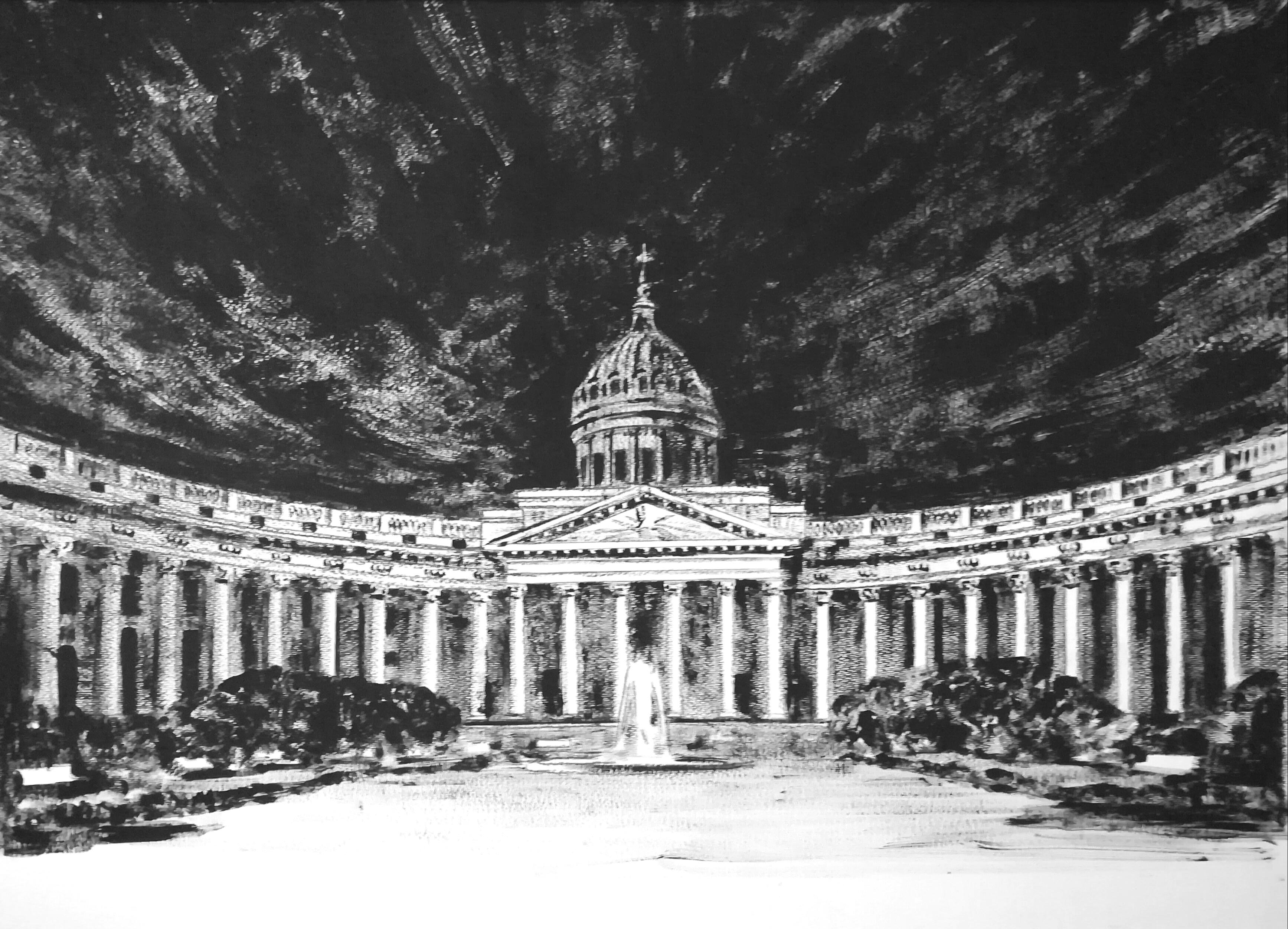 Славнова Анастасия картина Казанский собор