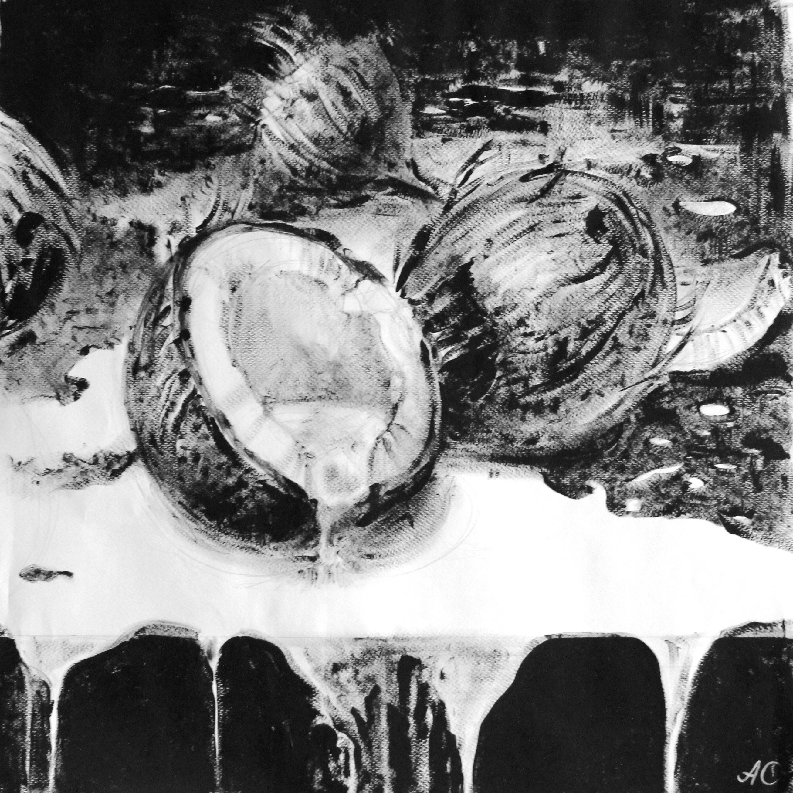 Славнова Анастасия картина Кокосы №3